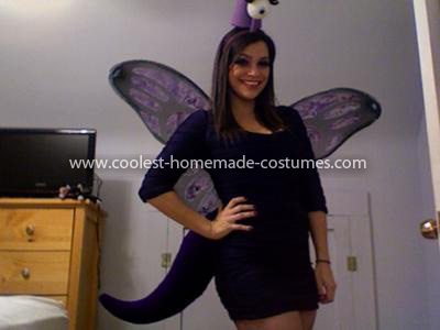 Coolest One Eyed One Horned Flying Purple People Eater Costume 4