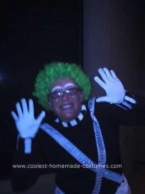 Homemade Ooompa Loompa DIY Halloween Costume