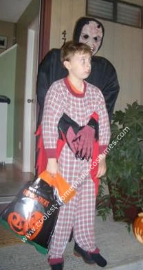 Homemade Bogeyman Under the Bed Halloween Costume