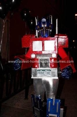 Optimus Prime Halloween Costume
