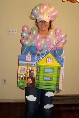 Homemade Original Up Halloween Costume Idea