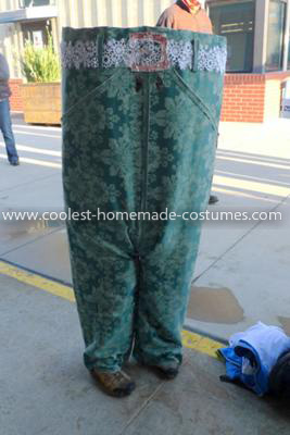 Coolest Pair of Pants Costume - Front