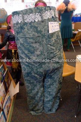 Coolest Pair of Pants Costume - Back