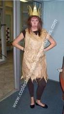 Homemade Paper Bag Princess Costume