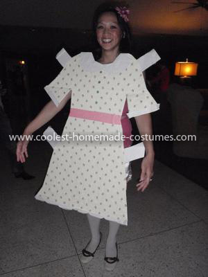 Coolest Paper Doll Costume