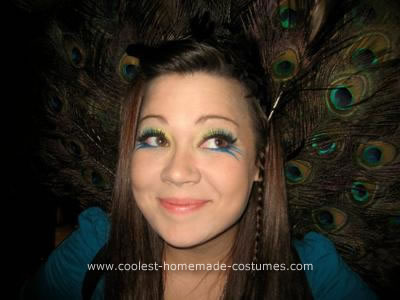 Peacock DIY Halloween Costume Idea