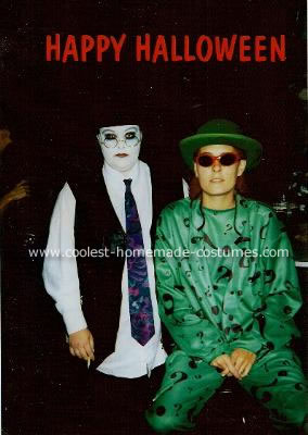 Penguin and The Riddler from The batman Movie