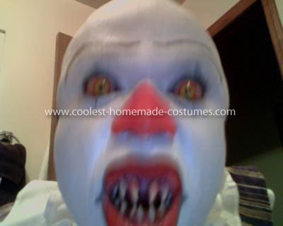 Homemade Pennywise Clown Costume