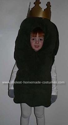 Homemade Pickle King Costume