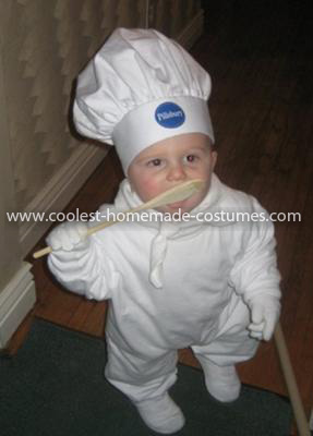 Coolest Pillsbury Doughboy Baby Costume 6