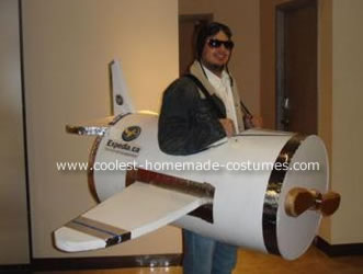 Pilot And Airplane Costume
