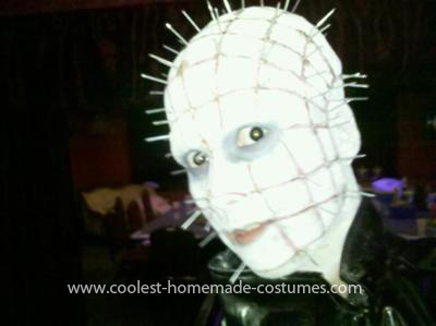 Homemade Pinhead Girl Costume