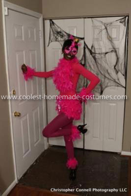 Coolest Pink Flamingo Adult Costume