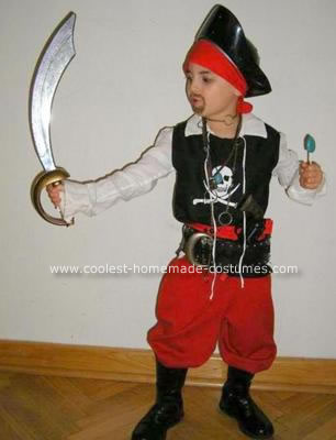 Pirate Jack Sparrow Homemade Halloween Costume