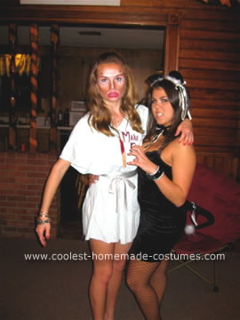 Homemade  Plastic Surgery Junkie Costume