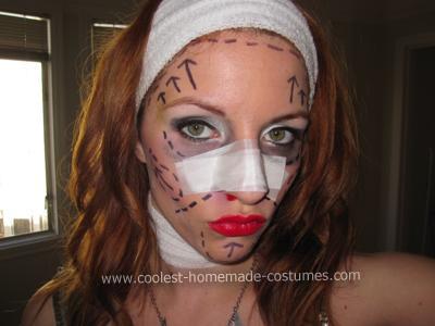 Plastic Surgery Socialite Costume