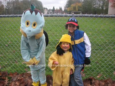 Homemade Pokemon Group Costume