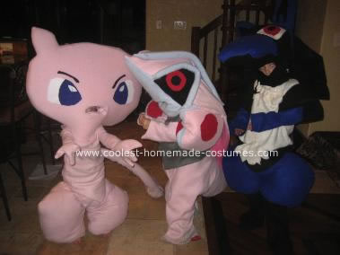 Pokemon Group Halloween Costumes