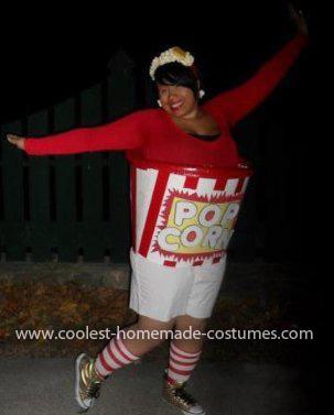 Coolest Popcorn Bucket Costume 22