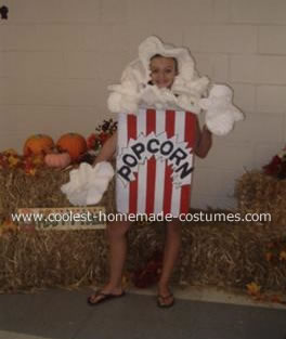 Courtney as Pop Corn