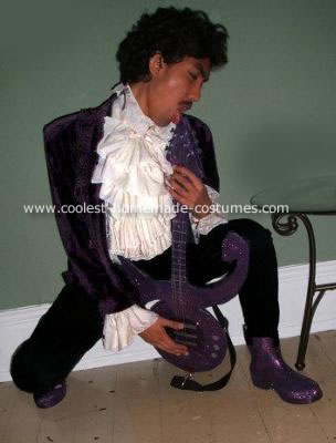 (The artist formerly known as) Prince Costume