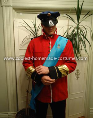 Homemade Prince William and Kate Middleton Couple Costume