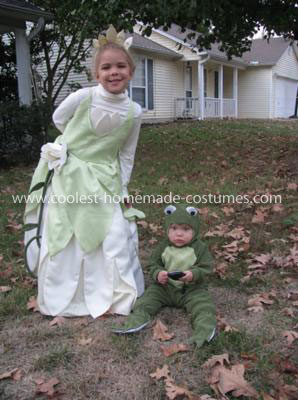 Coolest Princess and the Frog Costume