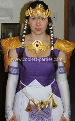 Homemade Princess Zelda Costume