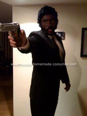Homemade Pulp Fiction Costume
