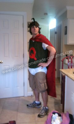 Doug Costumes 1 Quailman Costume