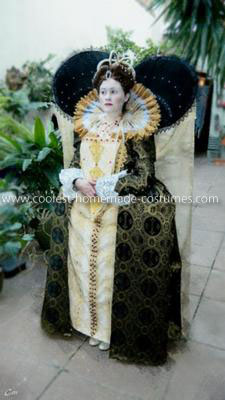 Homemade Queen Elizabeth I Costume