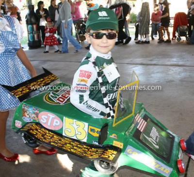Homemade Race Car Costume