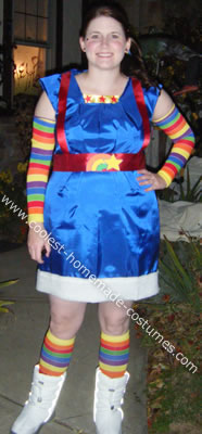 Rainbow Brite Halloween Costume