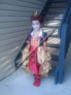 Homemade Red Queen Costume
