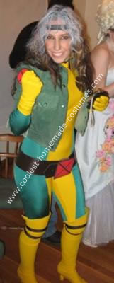 Homemade Rogue from the Xmen  Homemade Rogue Costume