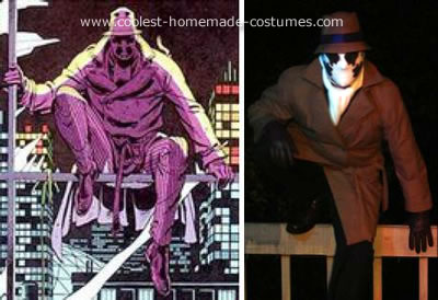 Rorschach Costume - Side-by-Side with the Original