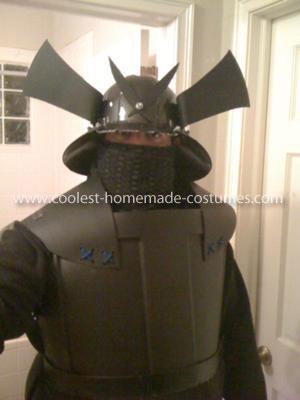 Coolest Rubbermaid Samurai Costume 3