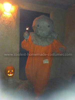 Homemade Sam from Trick 'r Treat Costume