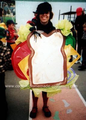 Homemade Sandwich Costume