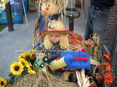 Scarecrow Homemade Halloween Costume