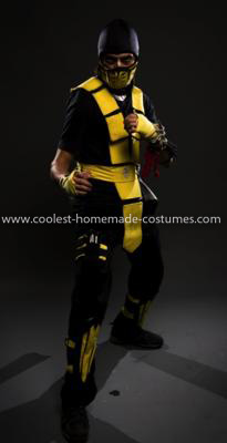 Coolest Scorpion from MK2 Costume 23