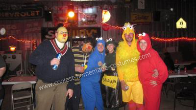Sesame Street Group Costume