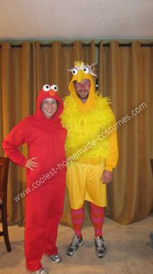 Elmo and Big Bird Costumes