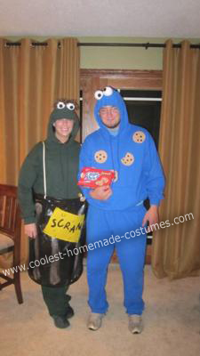 Oscar and Grouch Costumes
