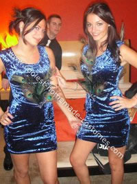 Homemade Sexy Peacock Costumes