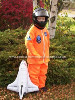 Homemade Shuttle Astronaut Costume