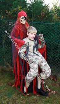 Skeleton Kidnapper Halloween Costume