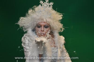 Coolest Snow Queen Costume 12