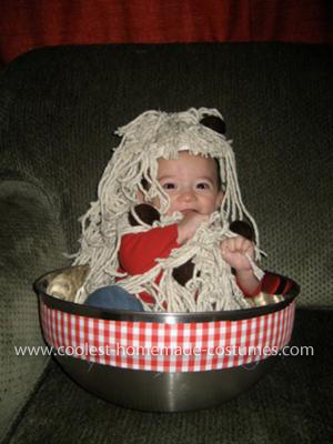 Homemade Spaghetti and Meatballs Baby Costume