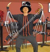 Homemade Spider Halloween Costume Idea